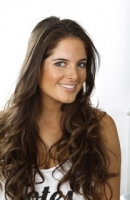 Binky Felstead from Made in Chelsea loving her Power Brow by Debra Robson LDN