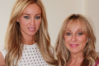 Towie's Lauren Pope with Debra in Harley Street for her amazing Power Brow Treatment