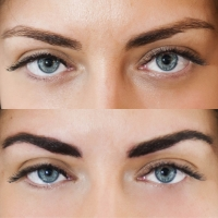 Power Brow Before and After